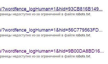 Пример дублей в поисковой выдаче